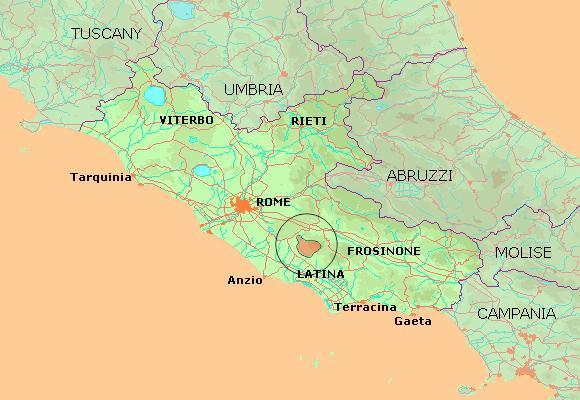 landkort over gardasøen