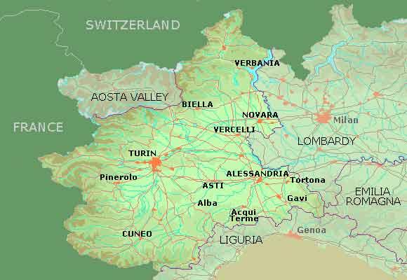 Italienske Vinregioner
